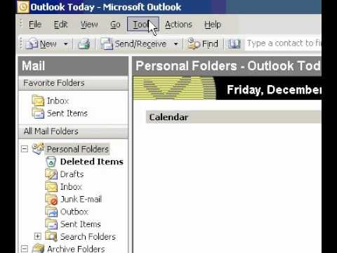 Microsoft Office Outlook 2003 Change the default color font, and size for notes you create