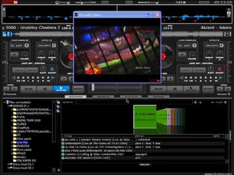 VIRTUAL DJ VIDEO  AGITANDO A GALERA!!! (ANDRÈÈ AT NIGHT)