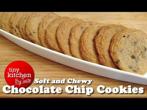 Martha Stewart's Soft and Chewy Chocolate Chip Cookies // Tiny Kitchen Big Taste