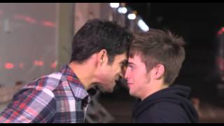 Staring contest between Tyler Posey & Dylan Sprayberry