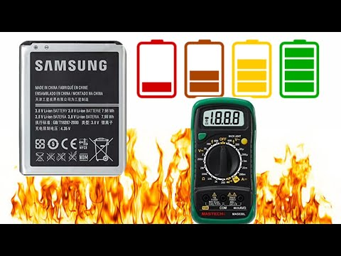 how to check mobile battery digital multimeter in malayalam