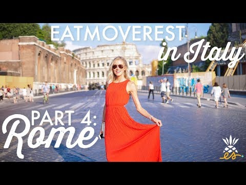 EatMoveRest In Italy, Part 4: There's No Place Like Rome + The Vatican *Plant-based, Vegan Travel*