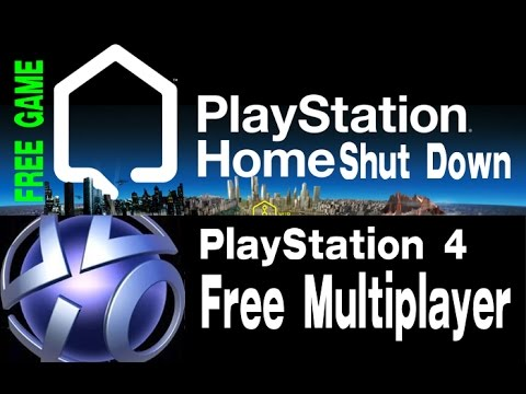 PS4 Free Multiplayer - PS Home Shut Down - How to get free game on PS3