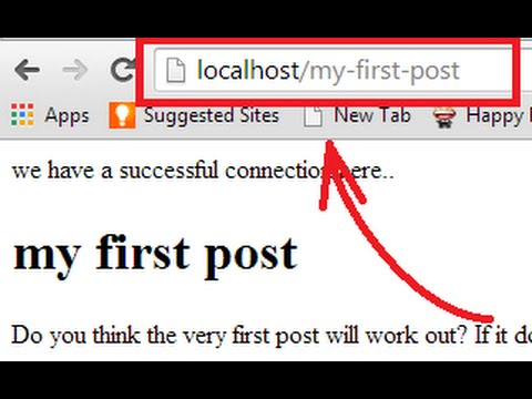 creating clean url  / pretty url in php -(1/3)