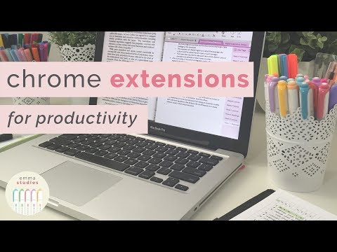 Improve your productivity with Google Chrome Extensions