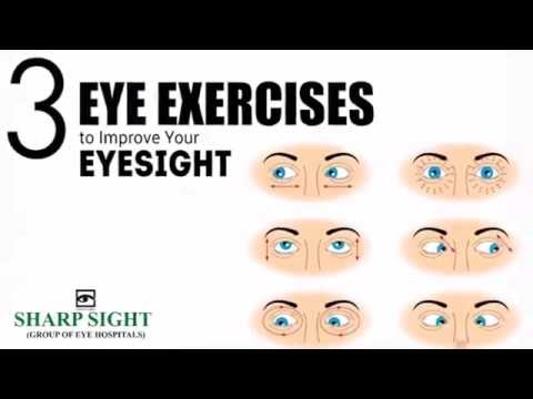 3 Easy Eye Exercises to Improve Vision Naturally   Sharp Sight