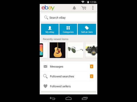 How To Use the eBay app to  make it easy to Sell  on Ebay