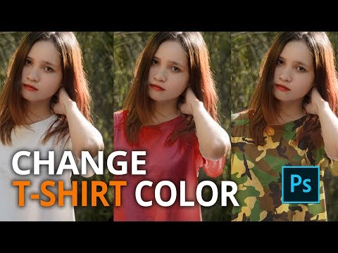 How To Change Shirt Color In Photoshop CS6