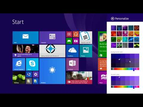 How To Change Background Color of Start Screen in Windows 8 & 8.1