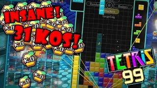 INSANE 31 KO GAME (Tetris 99)
