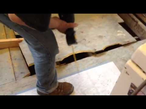 How to remove a sub floor