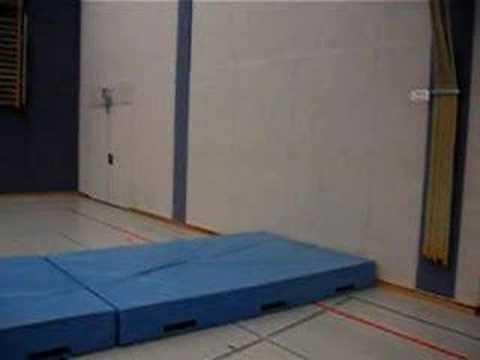 Backflip on wall (3 steps)
