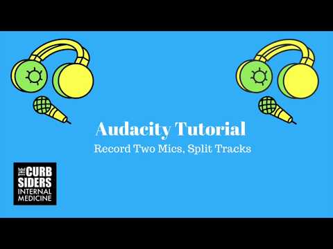 Audacity Tutorial 2017: How to record a podcast with two cohosts using audacity