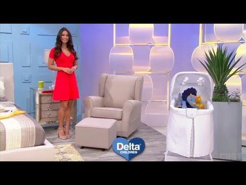 Delta Children Gilder & Bassinet is Showcased on The Price is Right