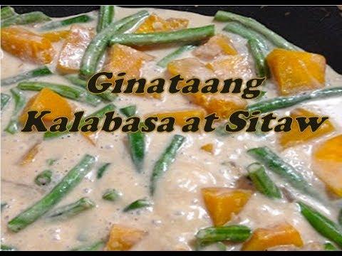 Ginataang Kalabasa at Sitaw