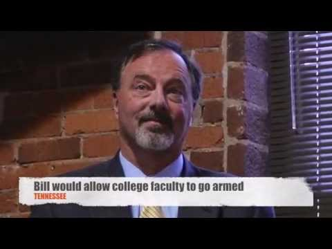 Senator Mike Bell suggests letting college staff go armed on campus