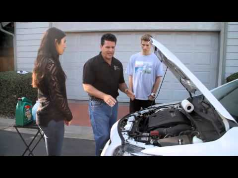 Teaching how to check radiator fluid