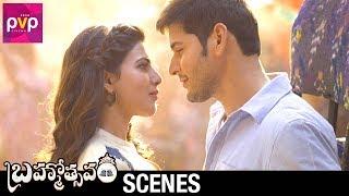Mahesh Babu and Samantha Love Scene   Brahmotsavam Telugu Movie   Kajal Aggarwal   Vennela Kishore