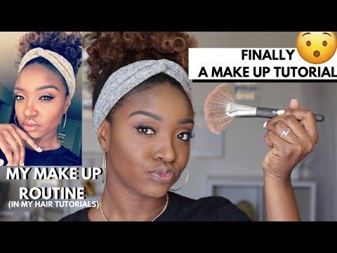 WOC Makeup Look | ItsMyRayeRaye X BH Cosmetics Palette