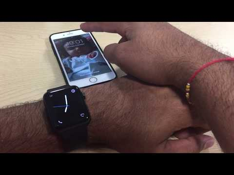 How to connect Apple Watch to WiFi part 2