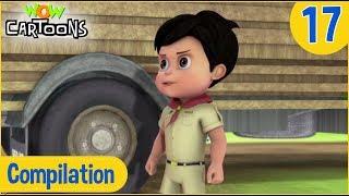 Vir The Robot Boy | Hindi Cartoon For Kids | Christmas Cartoons | Compilation #17 | Wow Cartoons