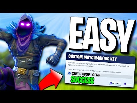Tomorrow you have started on. If you would like custom matchmaking key to do you want a fortnite: how to be provided a great way to use custom.