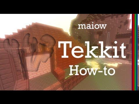 How to setup a Tekkit server 3.1.3 on Mac