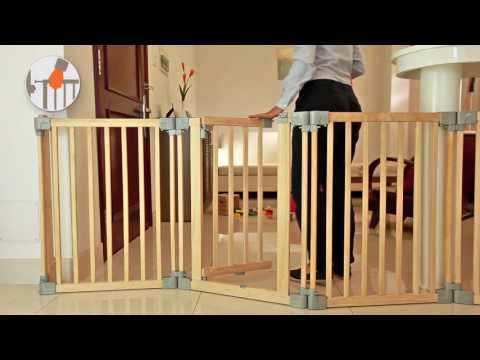 Yoko - Wooden playpen, room divider/fire surrounder, safety gate