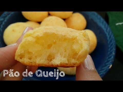 How to make Brazilian Cheese Bread (Pão de Queijo)