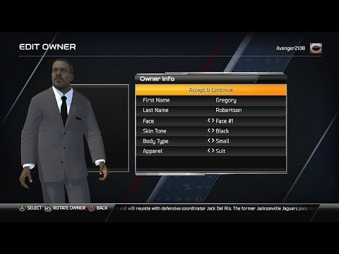 Madden NFL 25 - Owner Mode Xbox One Ep. 1 - Da Owner! [Intro]
