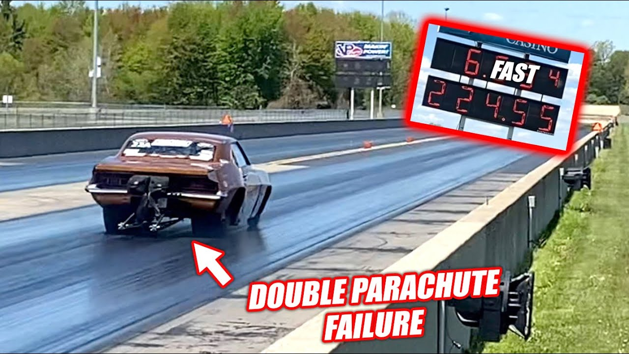 MY FIRST EVER 6 SECOND PASS... No Parachutes at 224mph