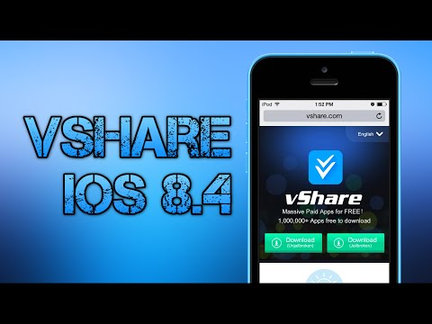 How To Install vShare iOS 8.4 & 8.3 & 8.2 Paid Apps Free Without Jailbreak (iPhone/iPad/iPod) 2015