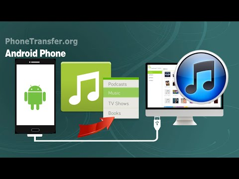 How to Sync Music from Android Phone to iTunes, Transfer Android Playlist to iTunes on Mac