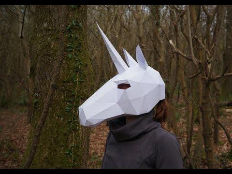 How to build a Wintercroft Unicorn Mask