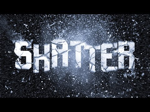Photoshop: How to Create Powerful, SHATTERED Text!