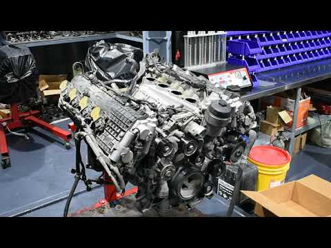 M156 C63 2014 Engine rebuild (part 1)