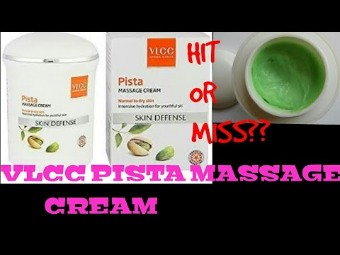 ✓ Honest review✓ VLCC PISTA MASSAGE CREAM.  ||  best and affordable massage cream for facial at home