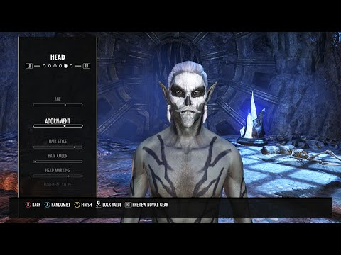 Elder Scrolls Online - XBOX ONE CHARACTER CREATION!