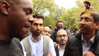 Shabir Yusuf vs Sara | Did Moses Exist Islam vs Kemet | Speakers Corner