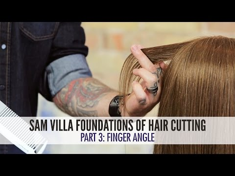 Hair Cutting Foundations - Finger Angle
