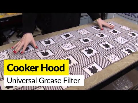 Cooker Hood Universal Grease Filter
