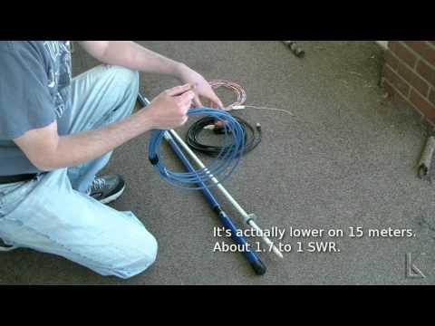 Ham Radio - Quick and easy field antenna