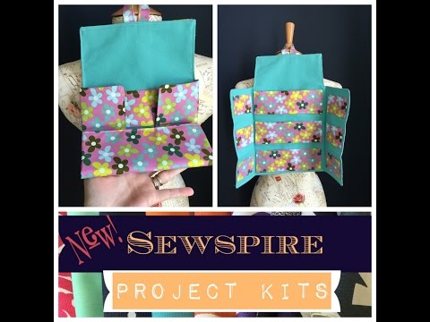 How to Sew A Jewelry Roll Travel Case