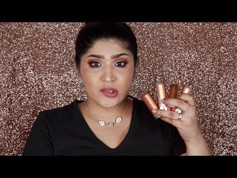 *NEW* Maybelline Inti-Mattes Review & Swatches | All Shades | Worth The Hype?! | Shreya Jain