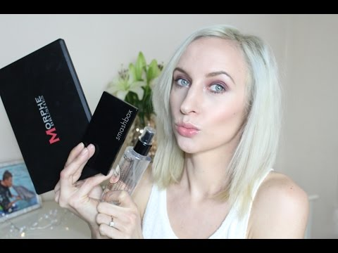 Jaclyn Hill Favourites Palette and Smashbox Contour Kit and Primer Water Review and Demo