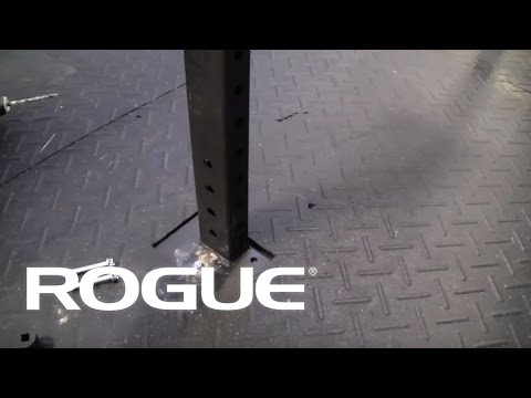 Attaching a Rogue Rack to Concrete