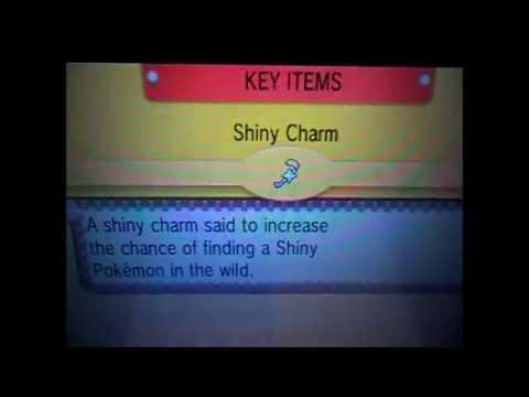 como conseguir o Shiny Charm e o Oval Charm em ORAS