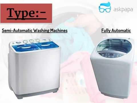 Buying Guide Washing Machine India (Shortest Video)