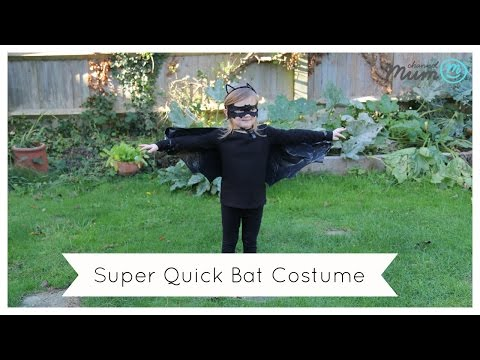 Halloween Bat Costume