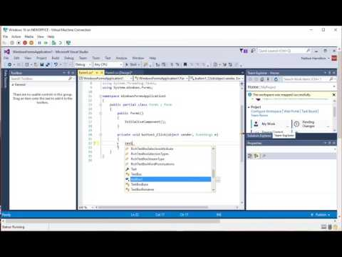 Visual Studio and Team Services Source Control
